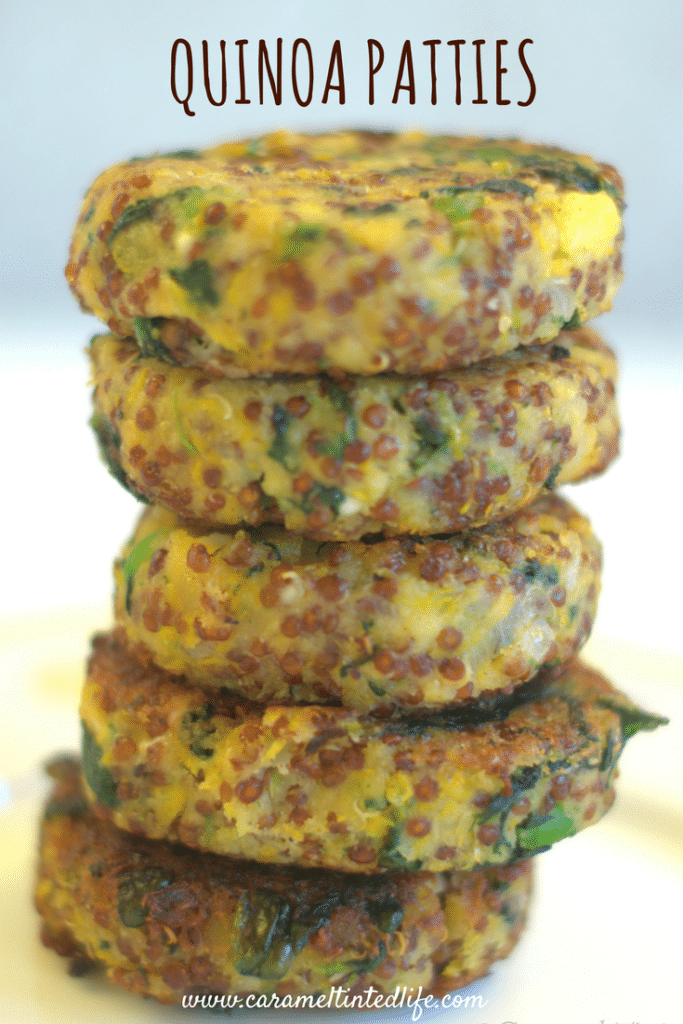 Full loaded quinoa patties