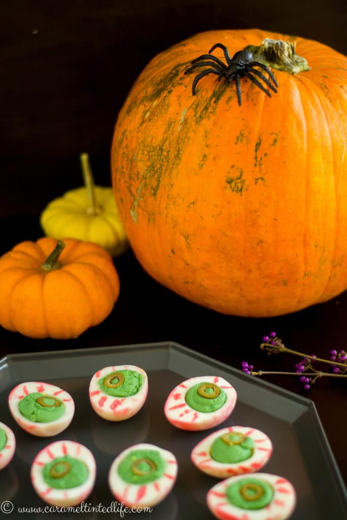 Halloween Delived Eggs