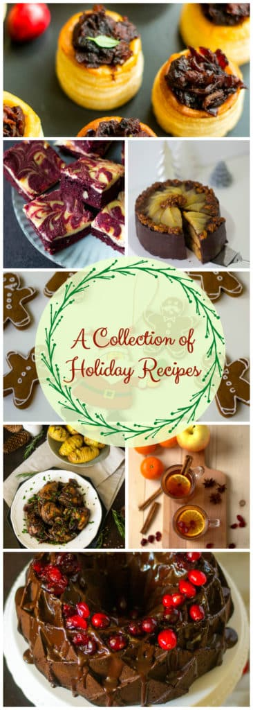 A collection of christmas recipes