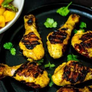 Grilled Chicken Tikka Drumsticks
