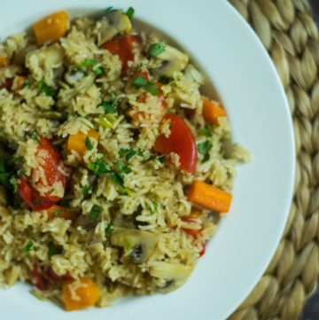 Instant Pot Rice and Veggies