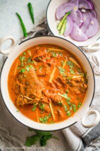 Instant Pot Mughlai Lamb Curry