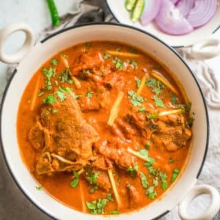 Instant Pot Mughlai Lamb Curry