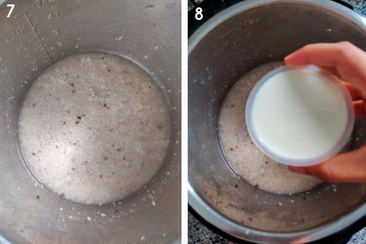 Instant Pot Horchata Step by Step recipe