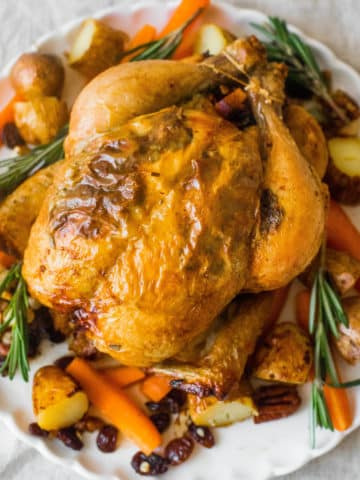Roast Chicken with herbs and spices