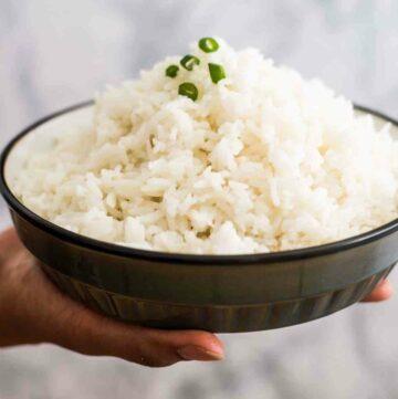 A bowl of Jasmine Rice